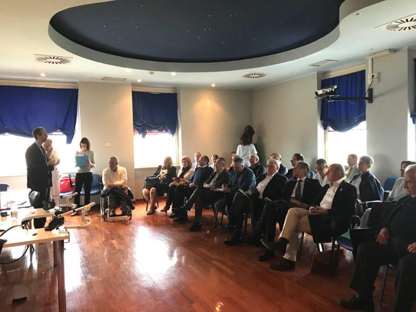 Rotary Gavi Libarna capofila per l Italia della donazione al presidio  Borsalino 1c246d4ee401